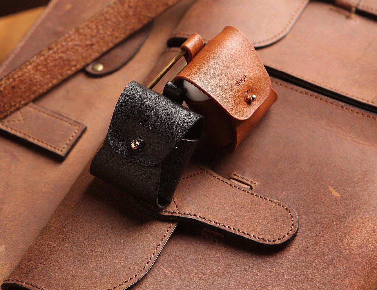 elago AirPods Leather Case » Gadget Flow