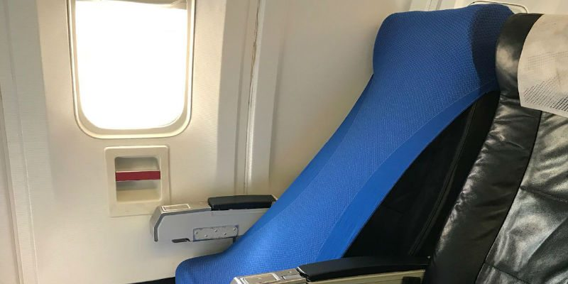 You can use it to cover your airplane seat