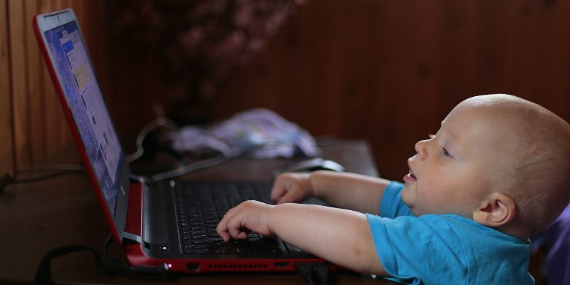 Never let your child browse the web by themselves.