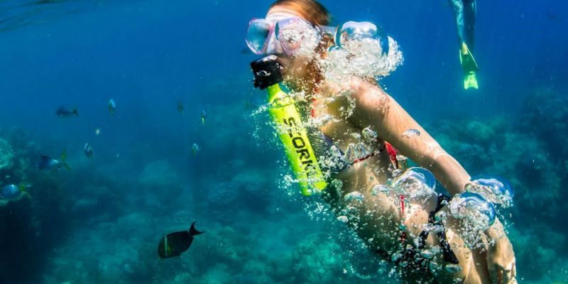 Underwater explorer's need