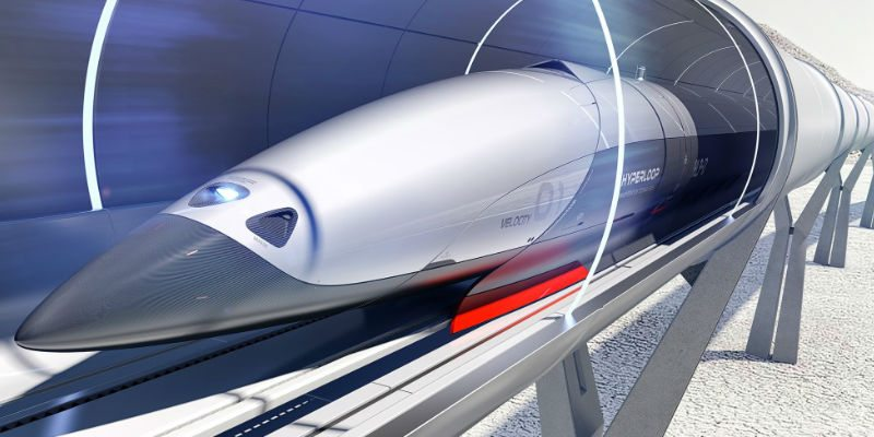 Hyperloop transportation concept