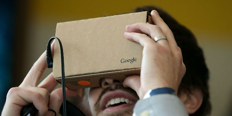 Google Cardboard comes for only $15/ Image credit: Fortune