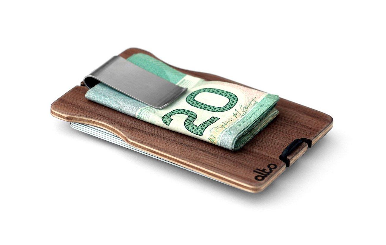 Alto Collective Minimalist Wood Wallet