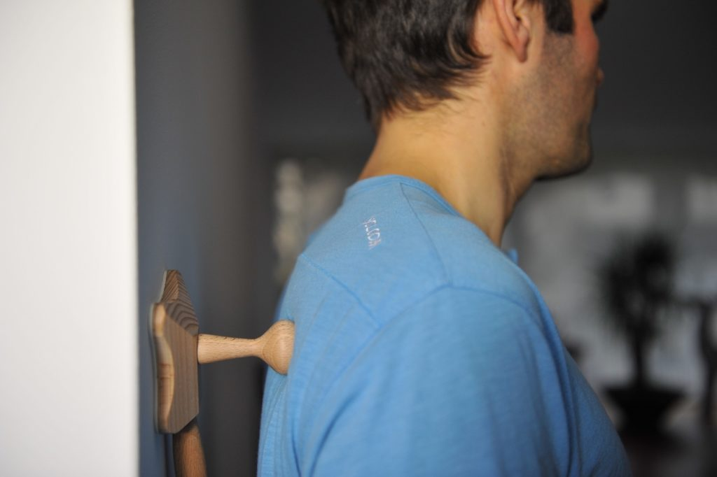 Backrelease+Wooden+Self+Massage+Tool