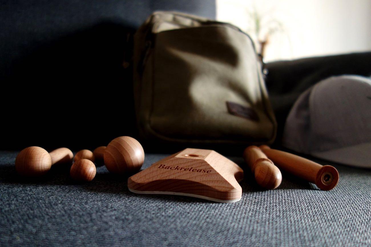 Backrelease Wooden Self Massage Tool