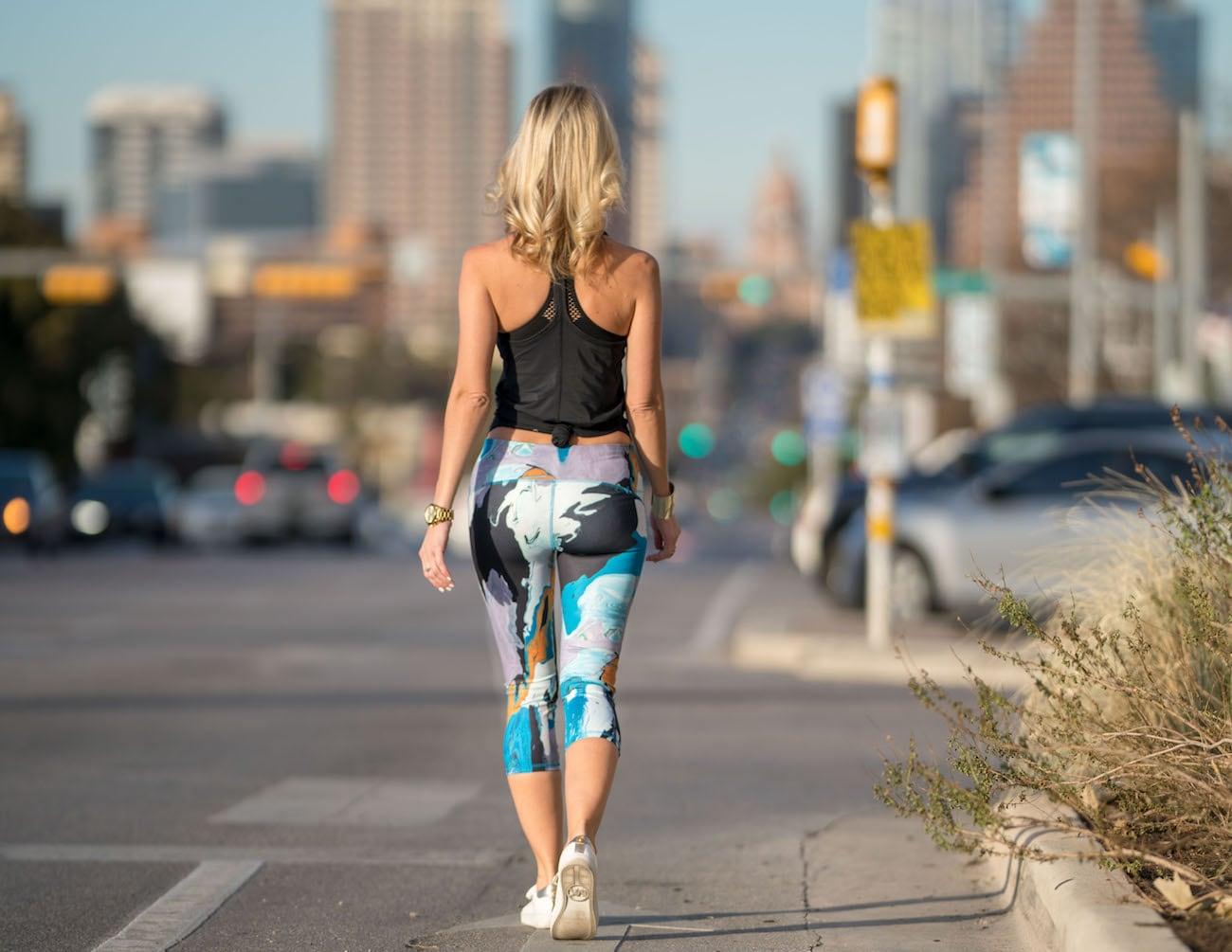 Beauty and the Mess Wearable Art Leggings