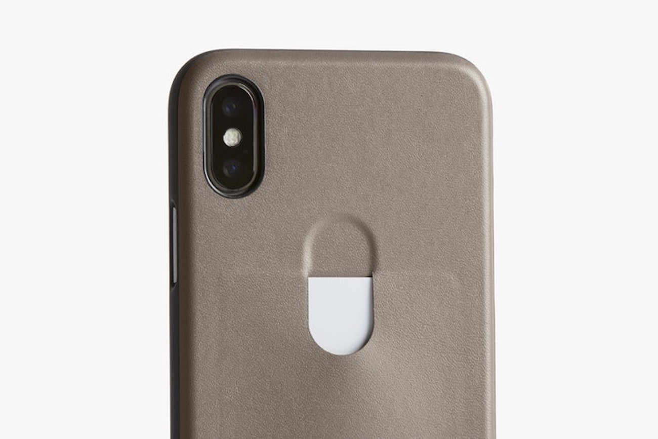 Bellroy 1 Card Leather iPhone X Case