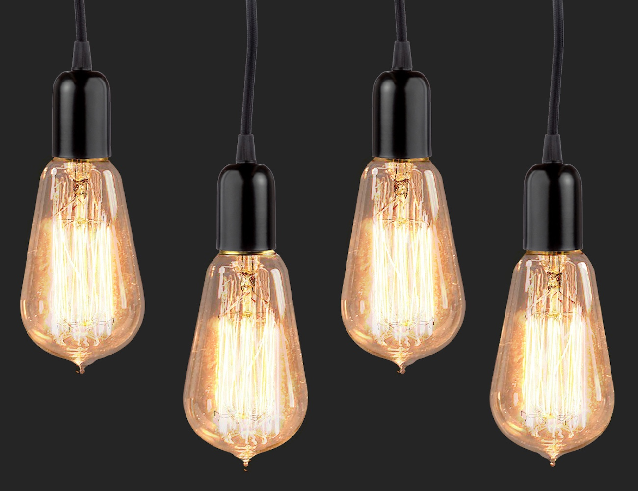 BriteNway Vintage Edison Dimmable Bulbs