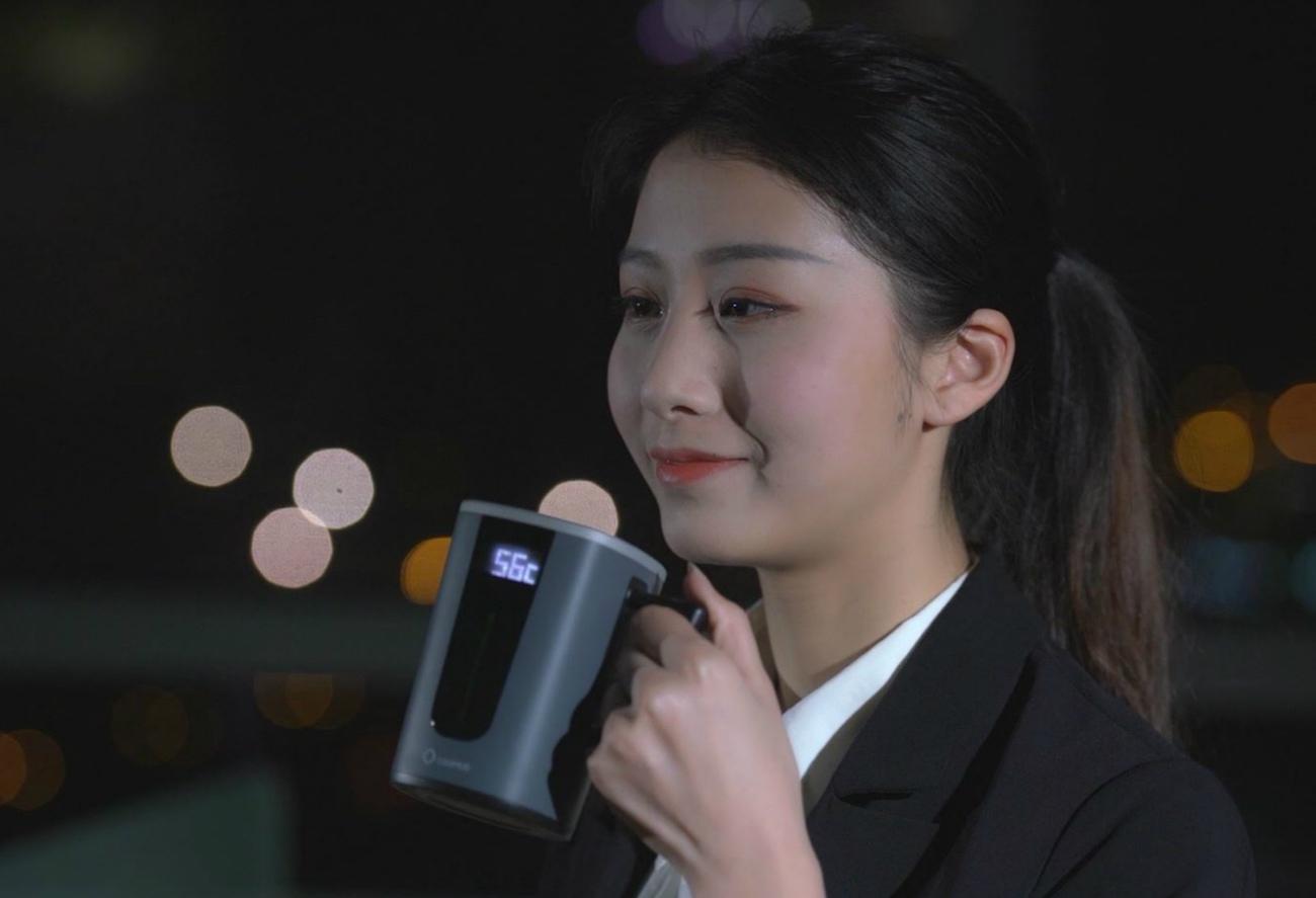 Coomug Qi Wireless Smart Coffee Mug