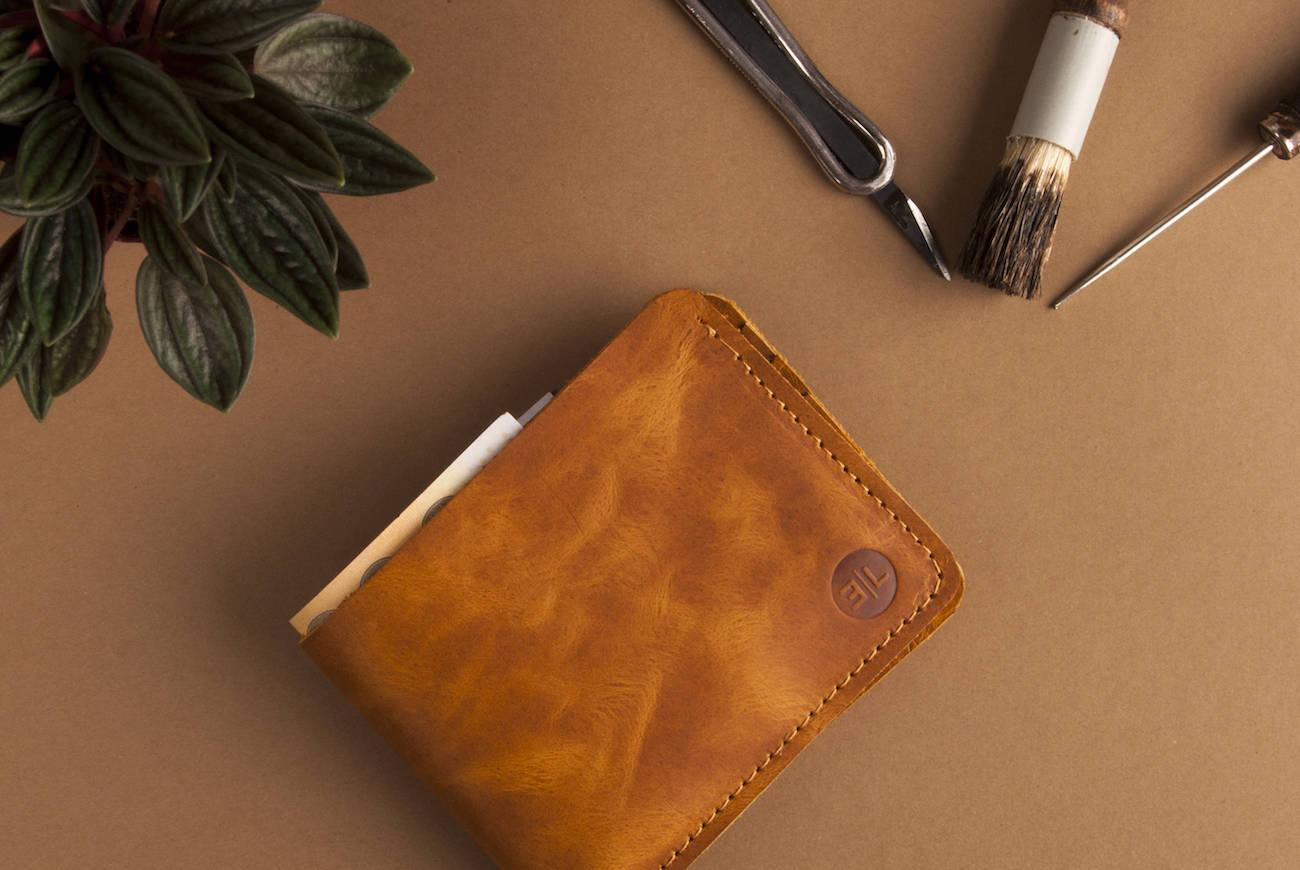 EtraLeather Minimalist Man Wallet