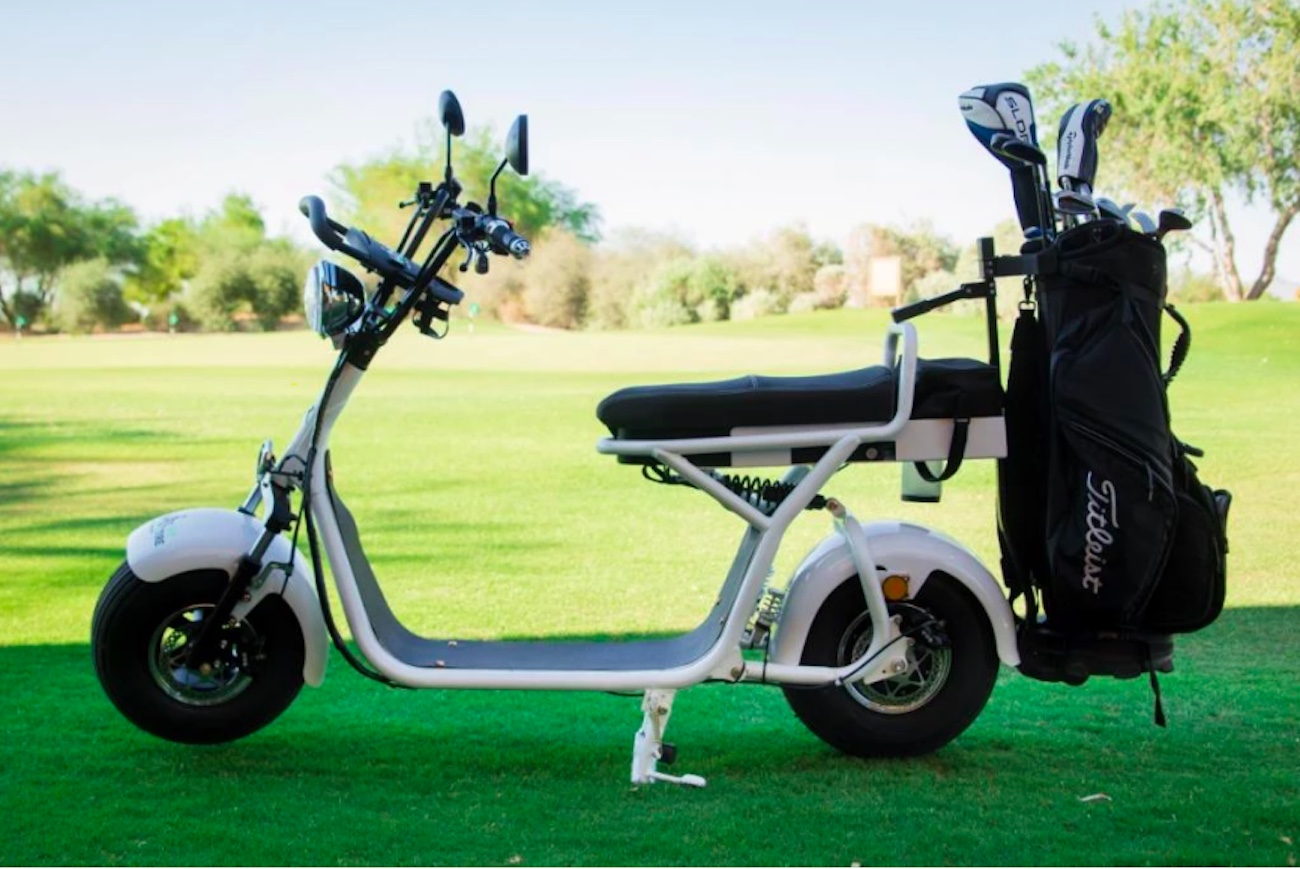 Fat Tire Personal Electric Golf Scooter 187 Gadget Flow