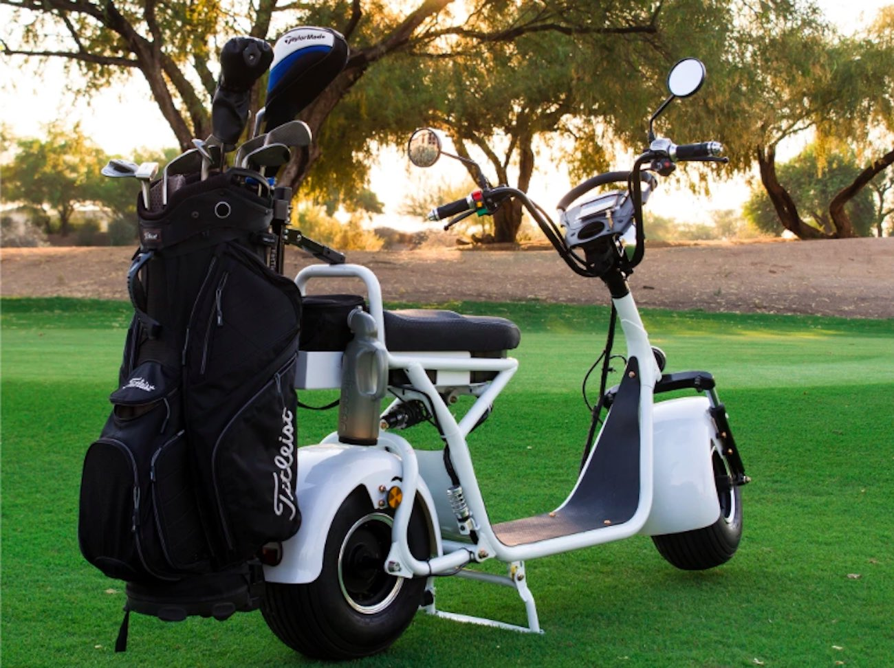 Fat Tire Personal Electric Golf Scooter