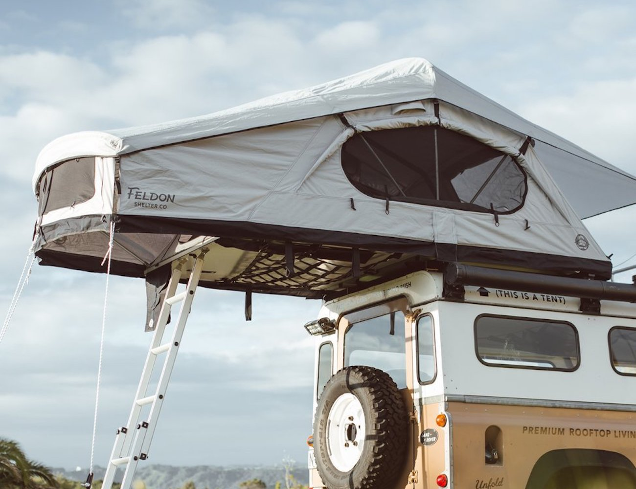 Feldon Shelter Crow's Nest Extended Rooftop Tent