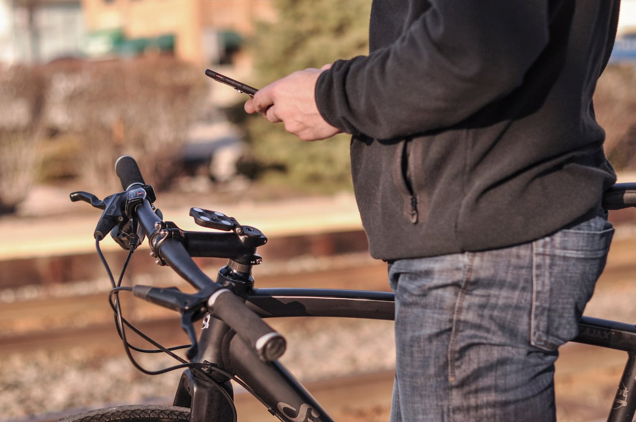FormMount Phone Magnetic Smartphone Bike Mount