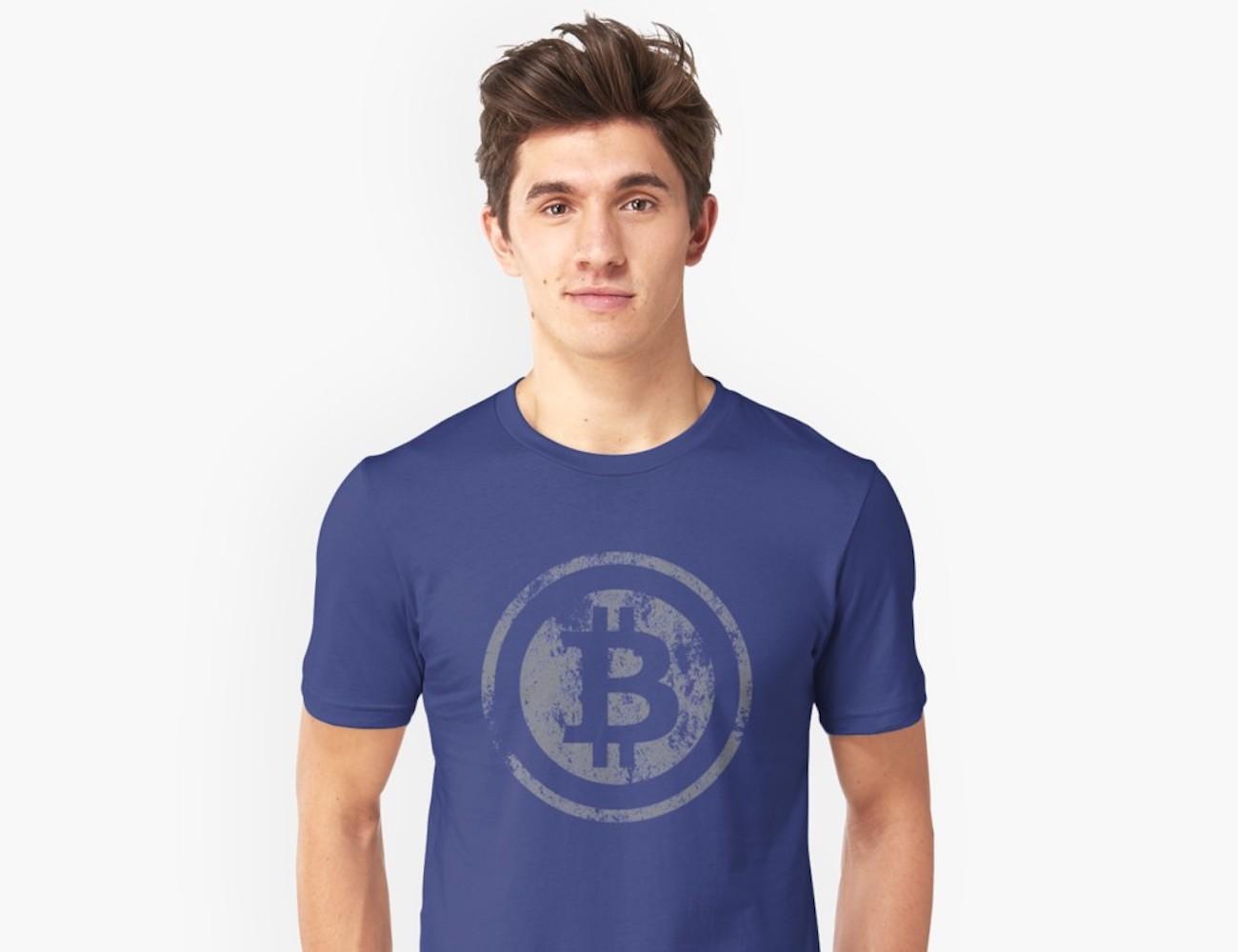Goodspy Vintage Bitcoin Logo Unisex T-Shirt