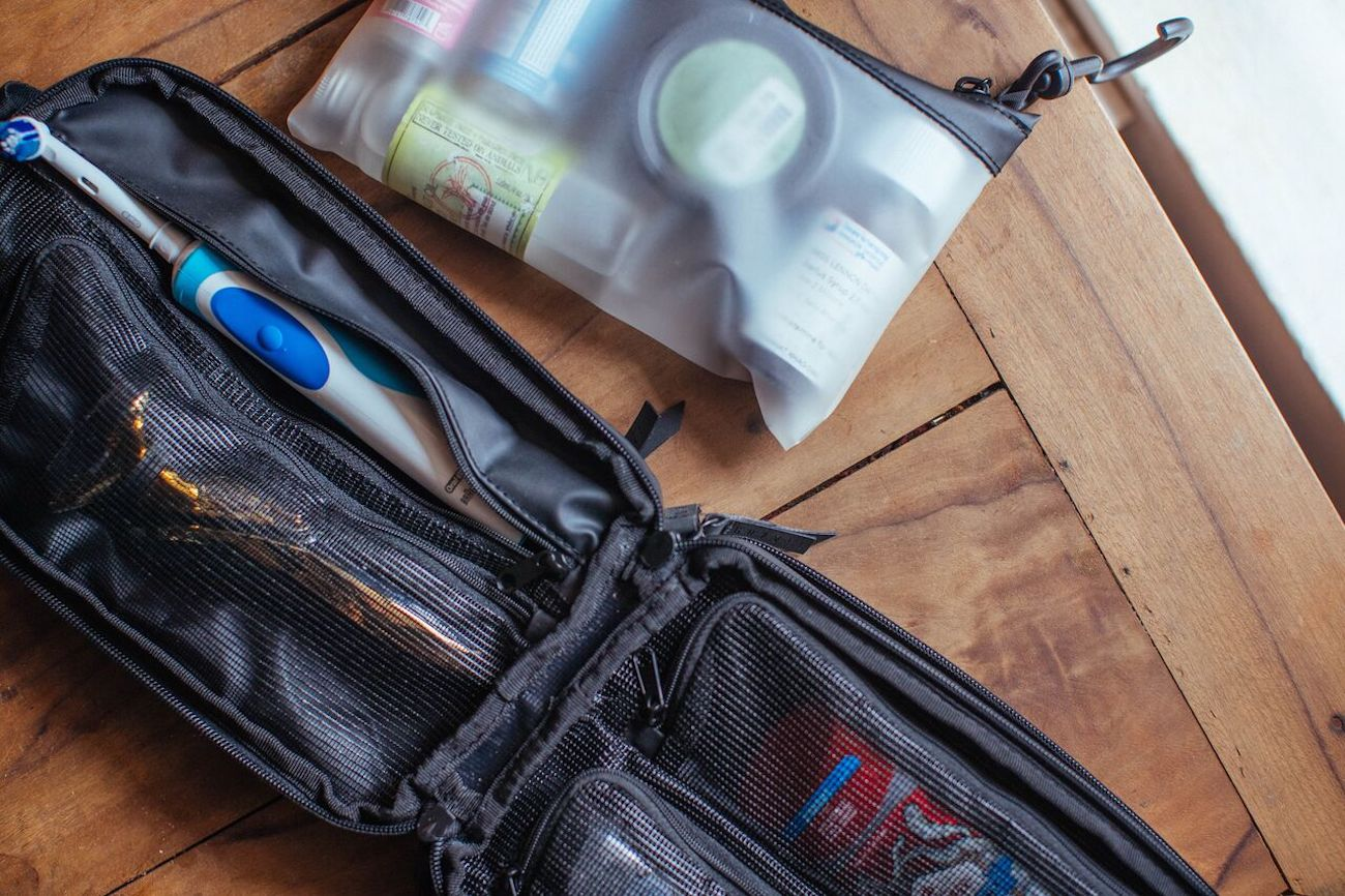 Gravel Expeditioner Travel Toiletry Bag