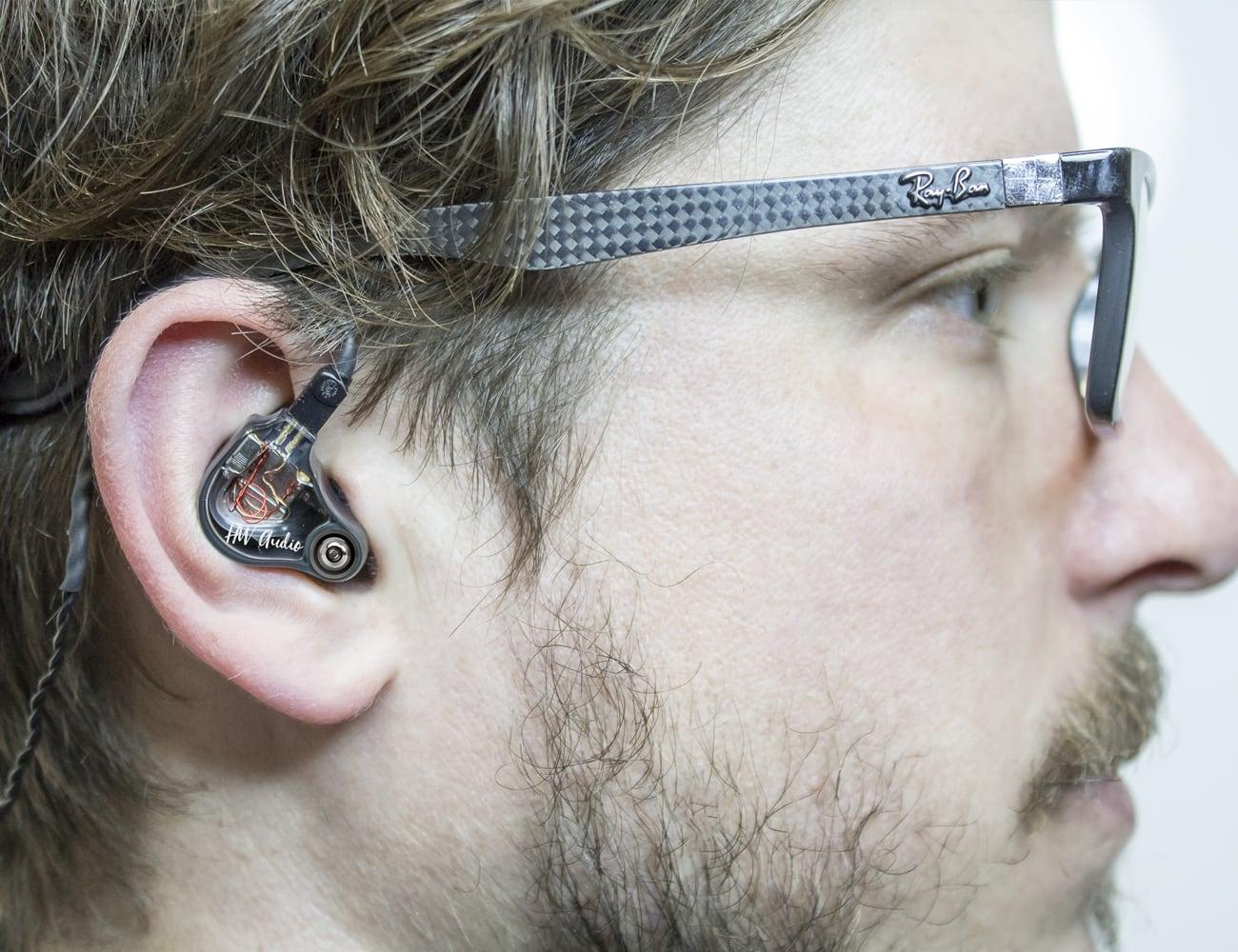 HW Audio 3D Printed In-Ear Monitors