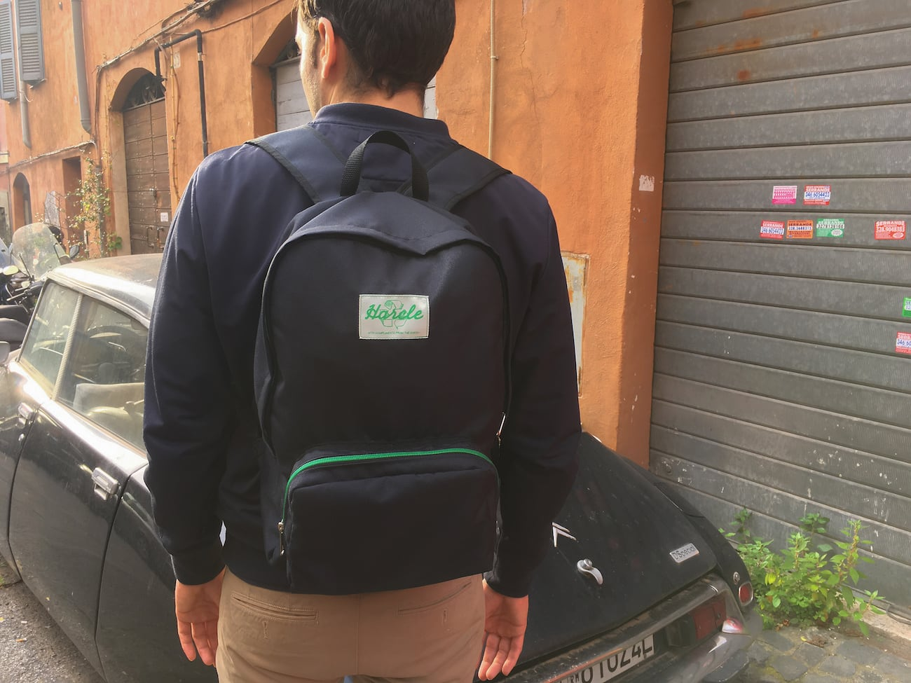 Harcle Eco-Friendly Backpack Set