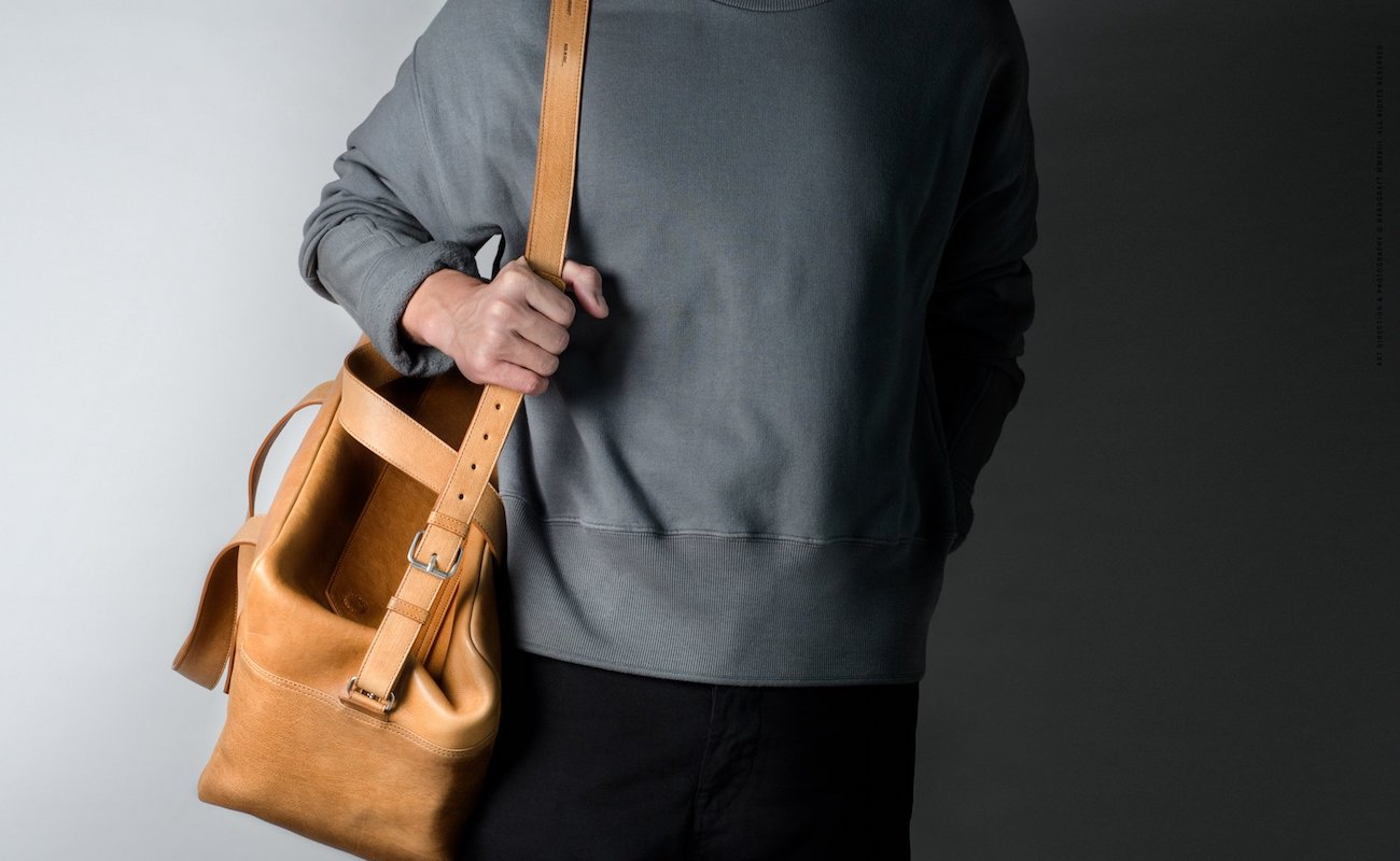 Hardgraft Overhead Holdall Leather Bag