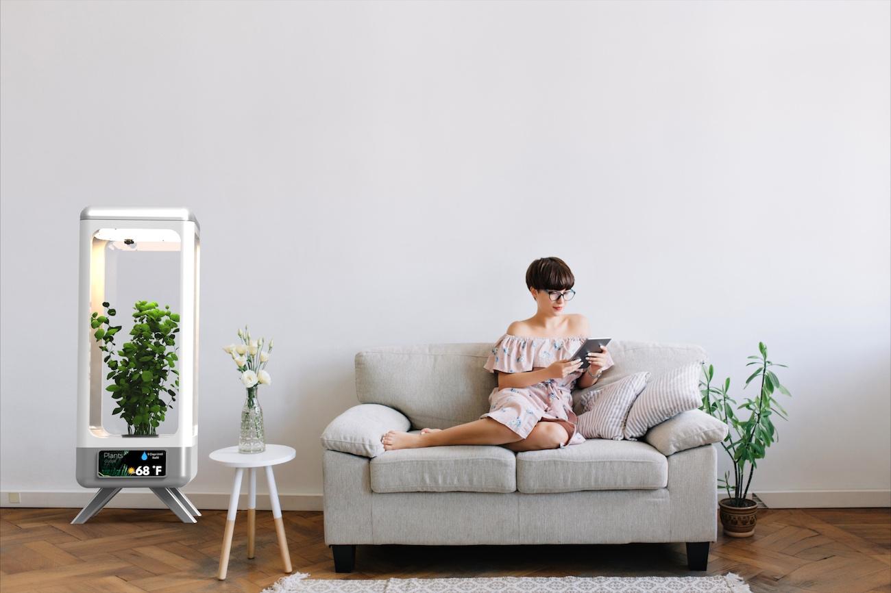 Herbot – Artificial Intelligence Indoor Garden