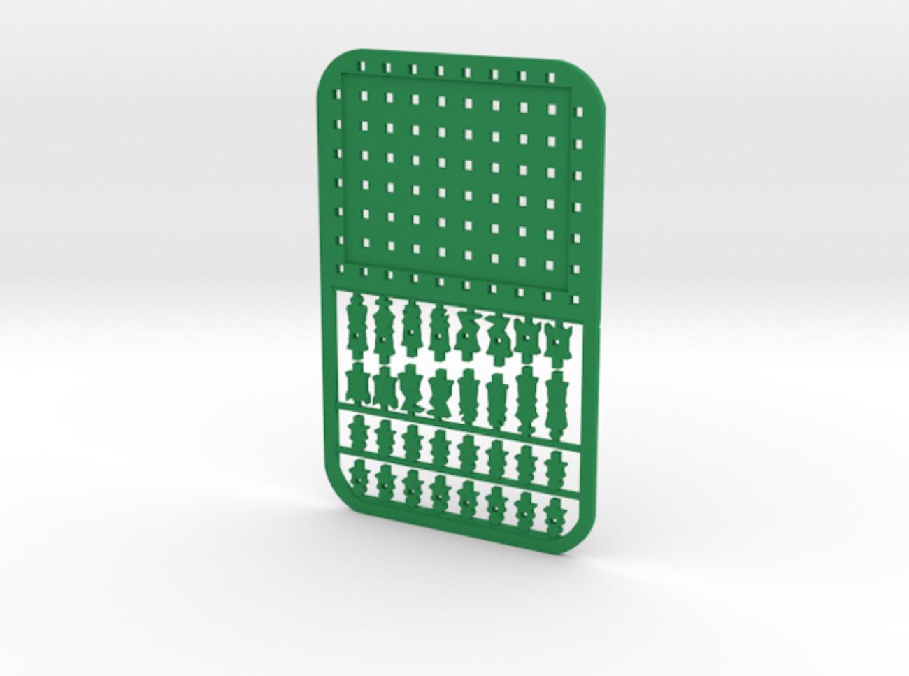 Innovo Design Credit Card Chess Set