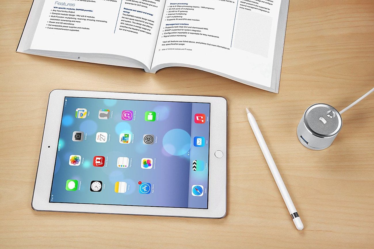 KeyEntre 3-in-1 Apple Pencil Stand