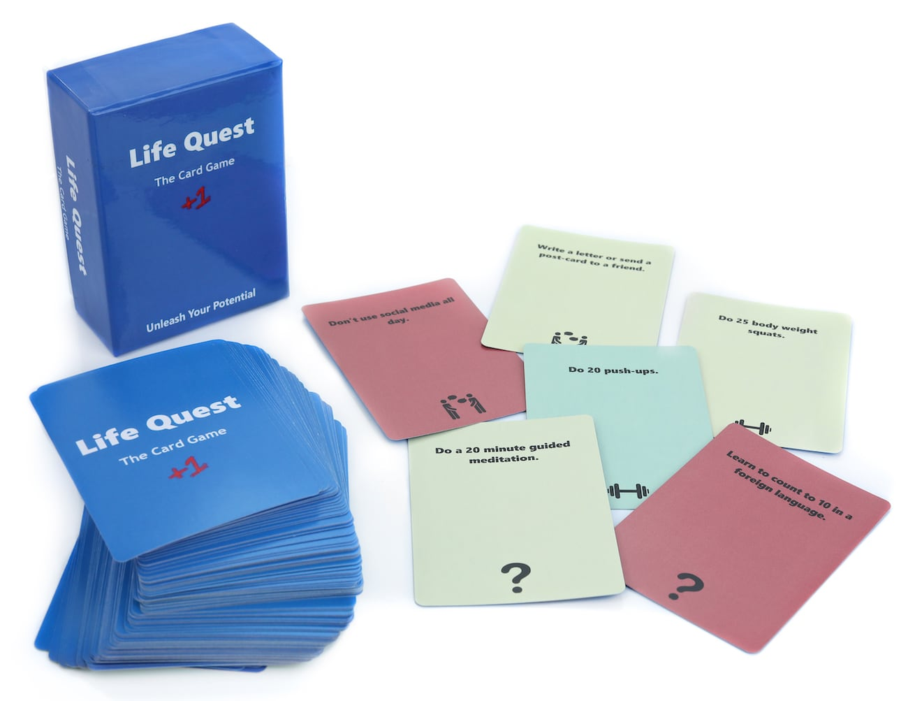 Life Quest Self Improvement Card Game