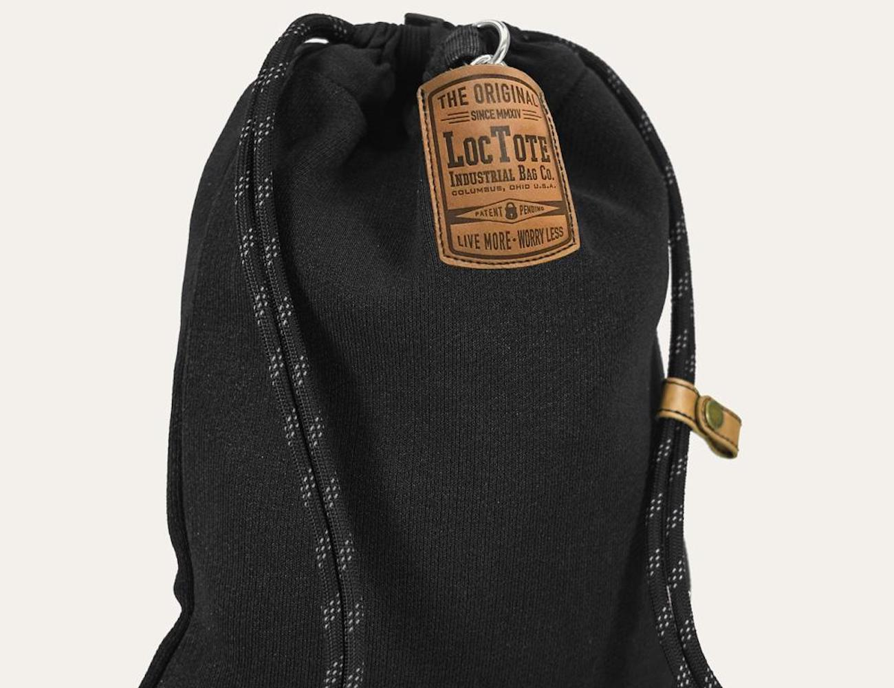 Loctote Flak Sack II Anti-Theft Drawstring Backpack