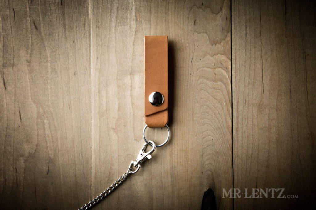 Mr.+Lentz+Leather+Belt+Loop+Keychain