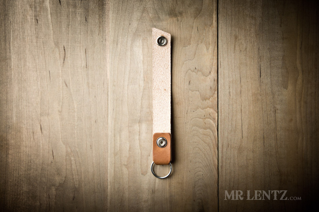 Mr. Lentz Leather Belt Loop Keychain