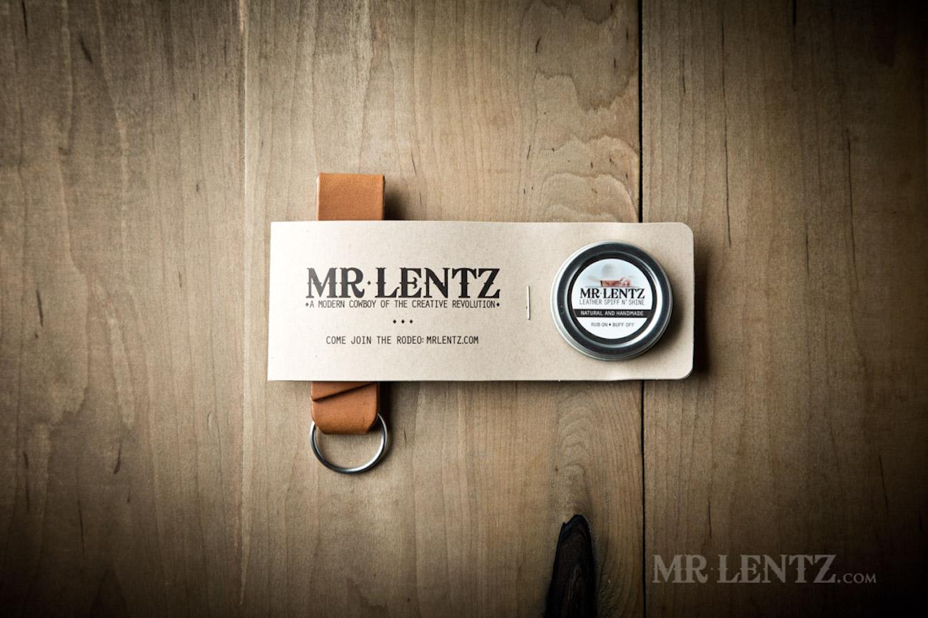 Mr. Lentz Leather Belt Loop Keychain