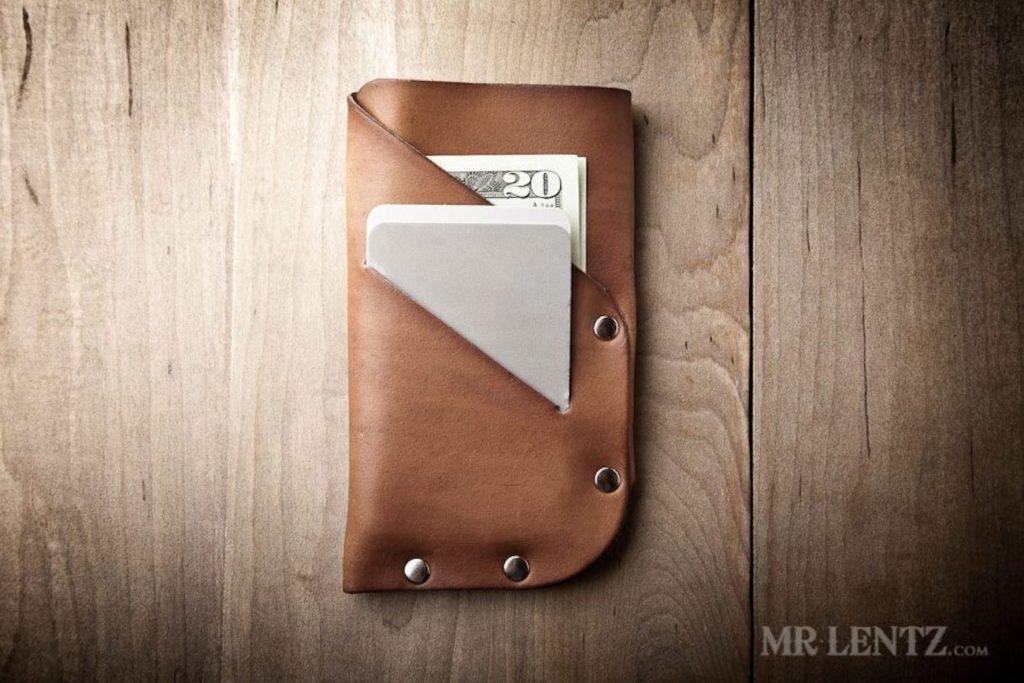 Mr.+Lentz+Slim+Leather+iPhone+Wallet