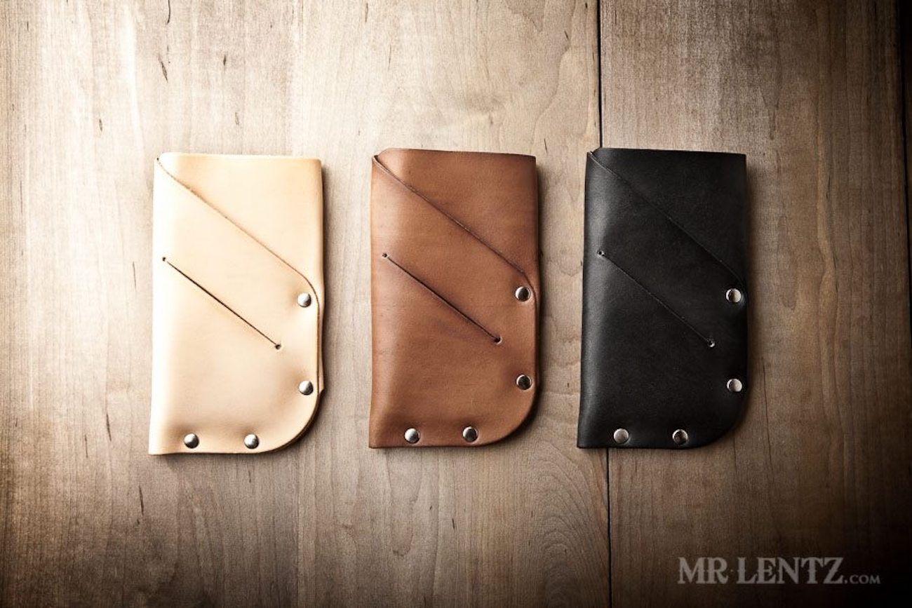 Mr. Lentz Slim Leather iPhone Wallet