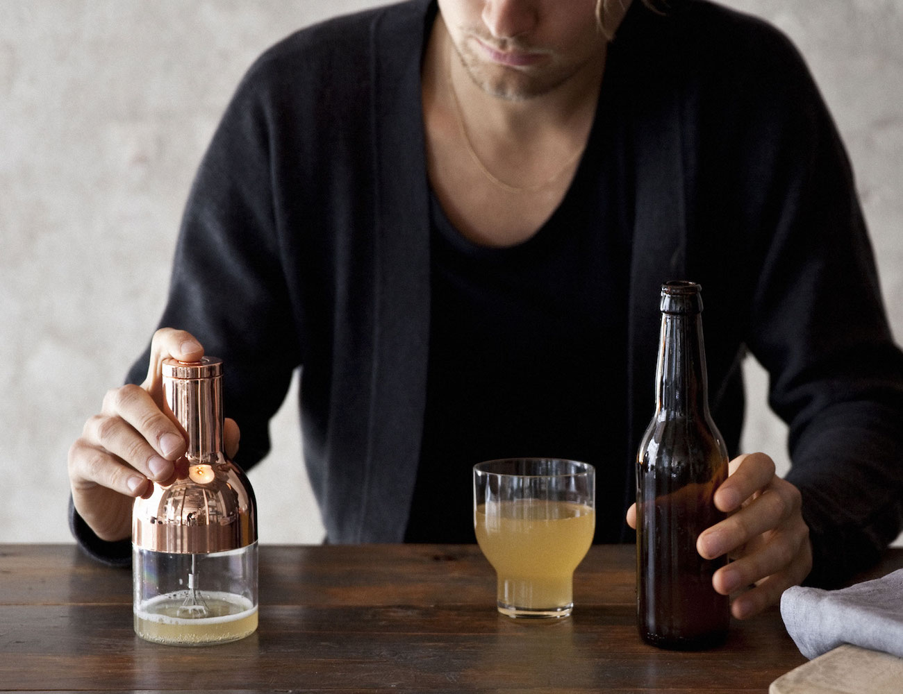 Norm Architects Menu Beer Foamer