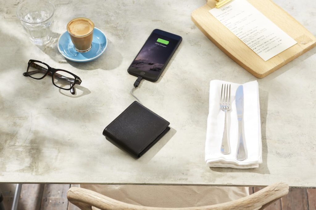 Orbit+Leather+Phone+Charging+Wallet
