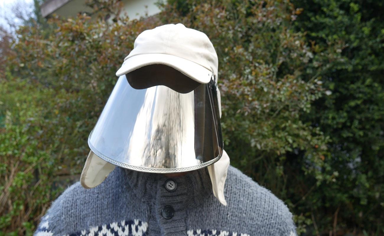 Pacific Sky Power Sun Shield Hat