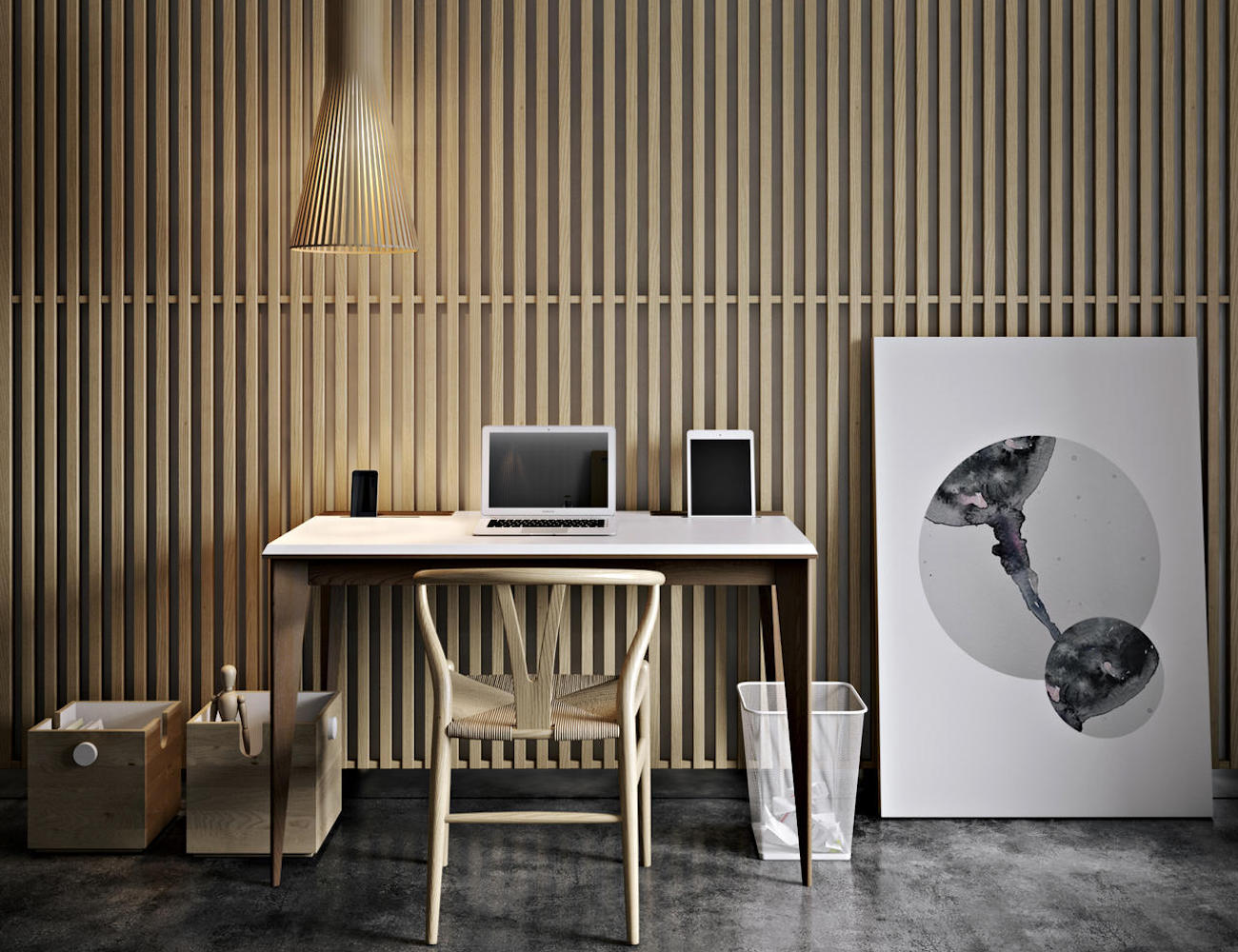 Pavel Vetrov Olly Designer Writing Desk
