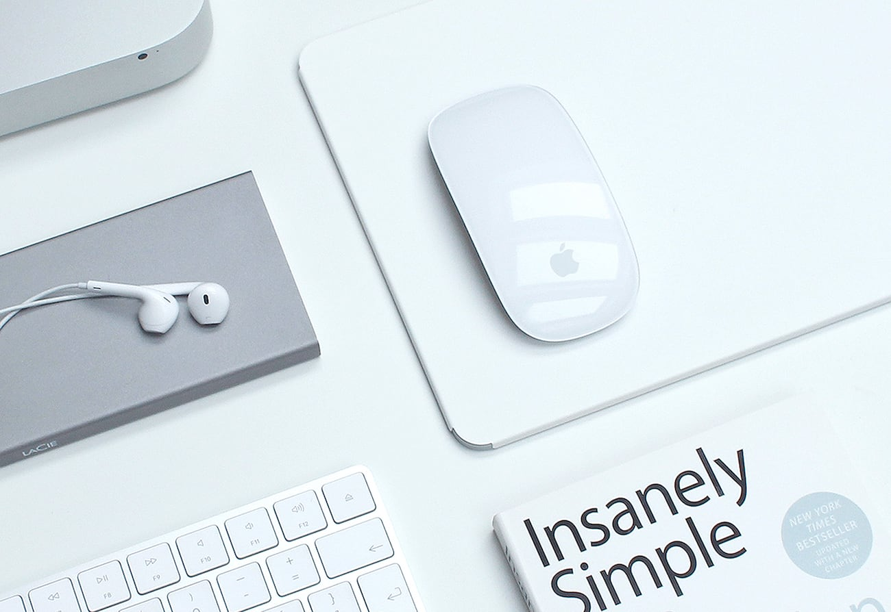 PureShape Apple Magic Mouse Minimalist Mousepad