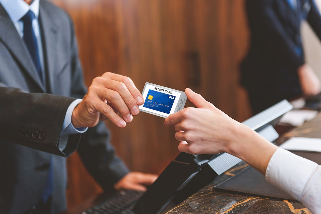 Qmplete is the only credit card you'll ever need