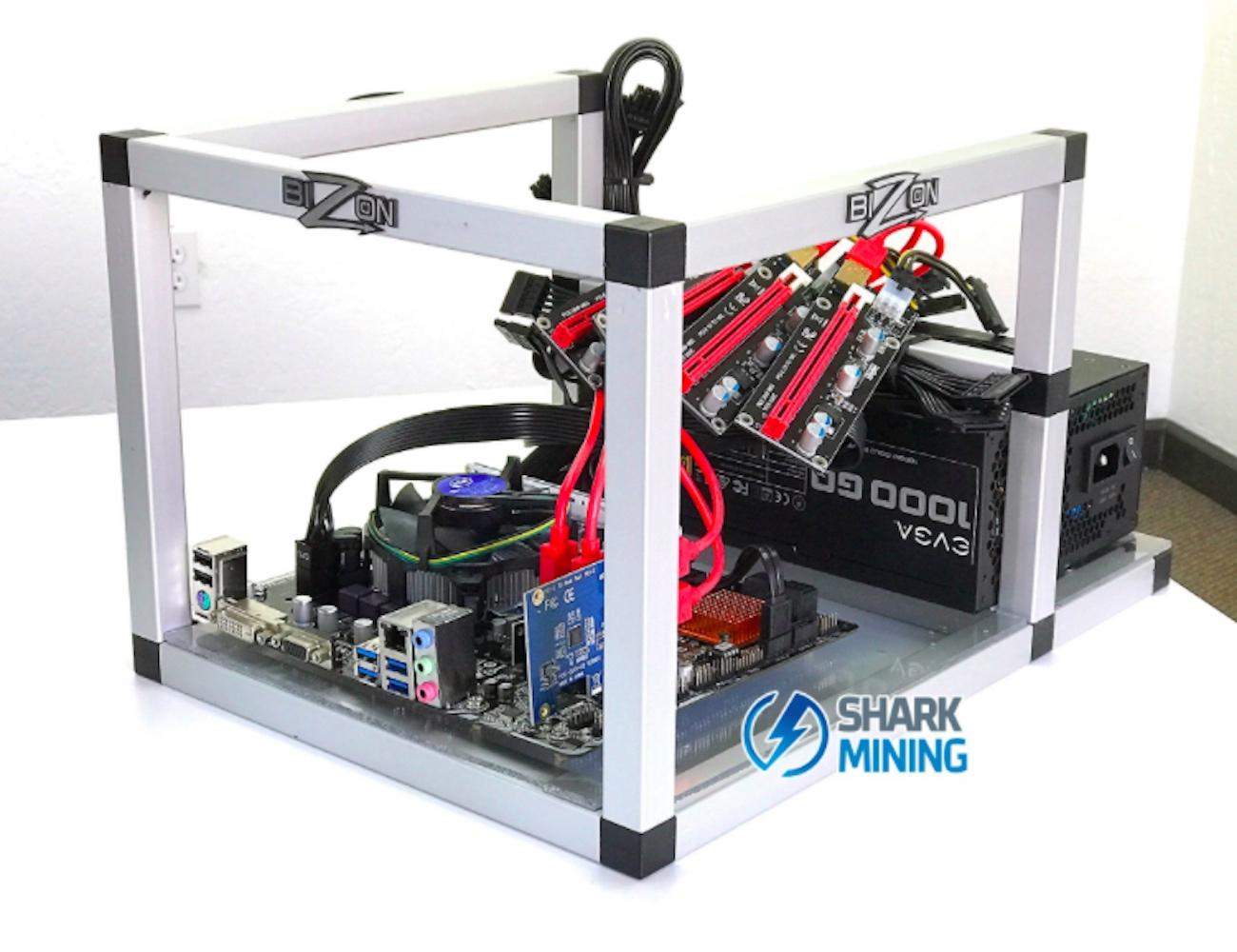 Shark Mini 4 GPU Mining Rig Kit