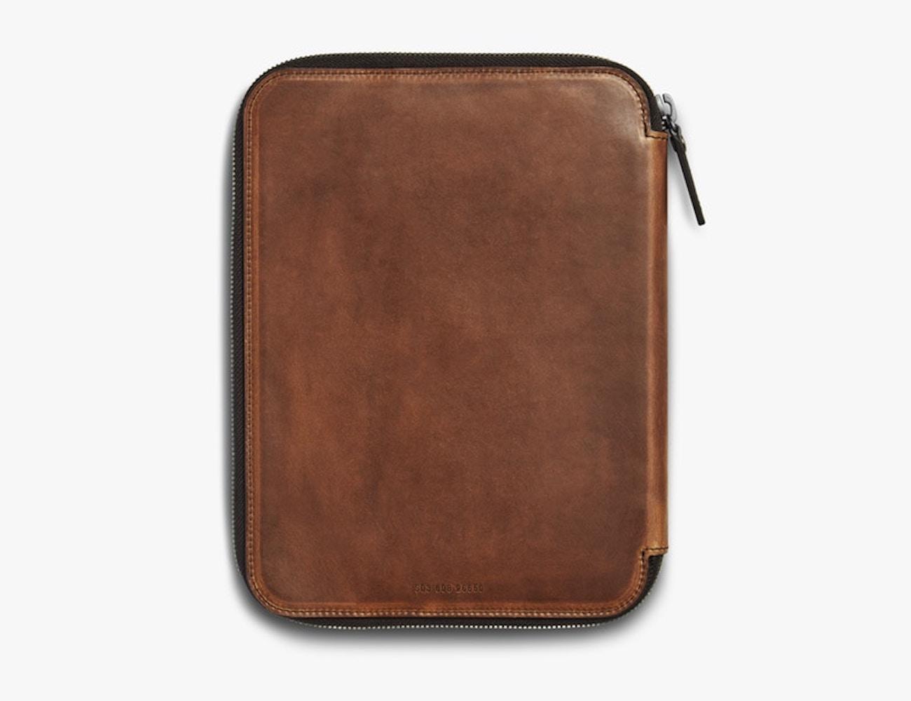 Shinola Navigator Leather Tech Portfolio