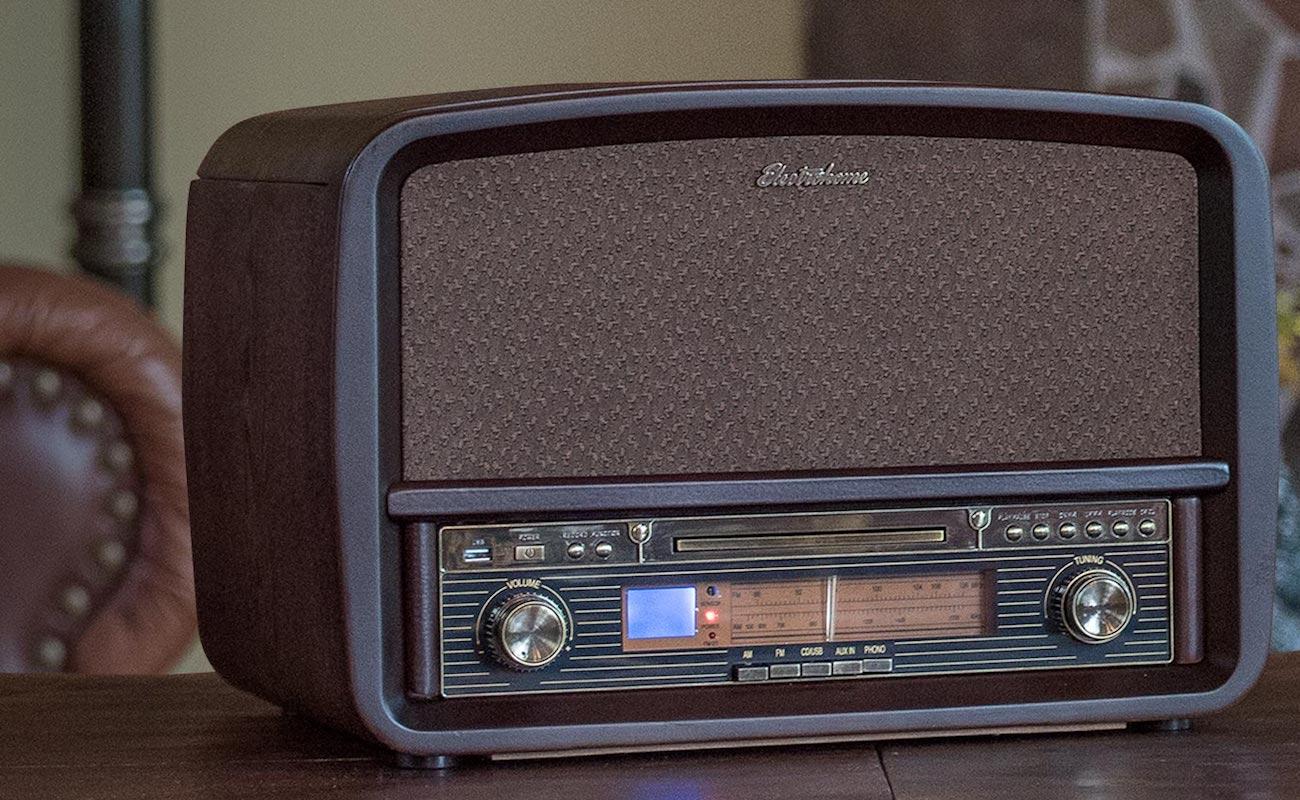 Signature Retro Vinyl Stereo System 187 Gadget Flow