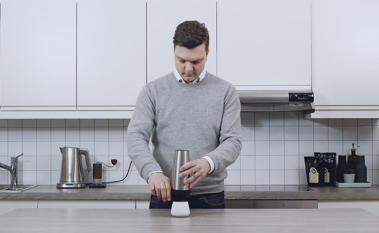 SteepShot Minimalist Portable Coffee Brewer