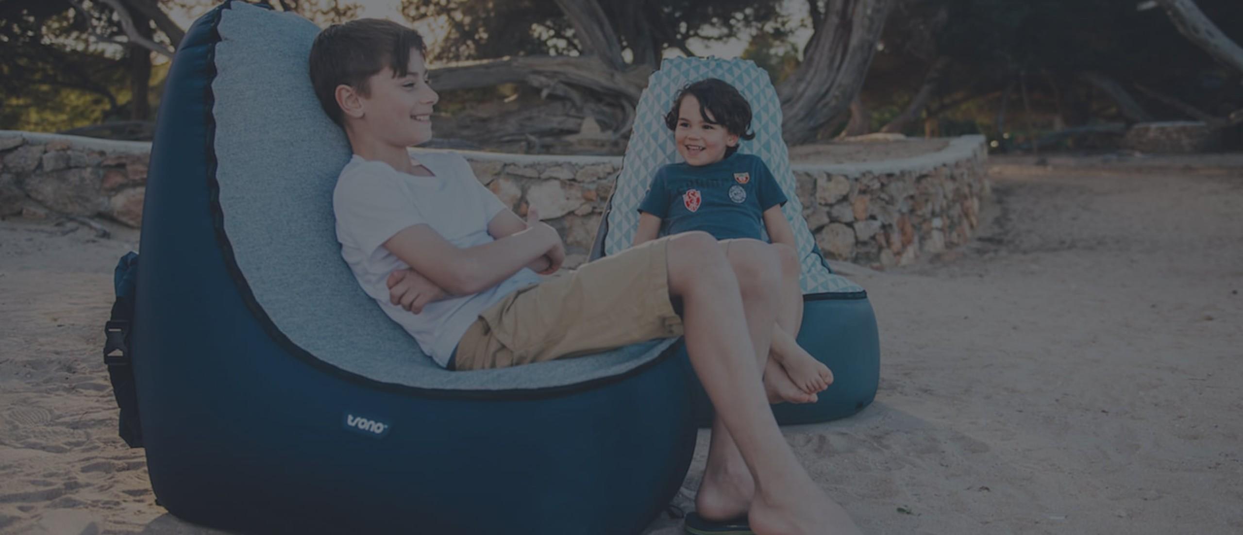 TRONO Portable Kids Lounge Chair