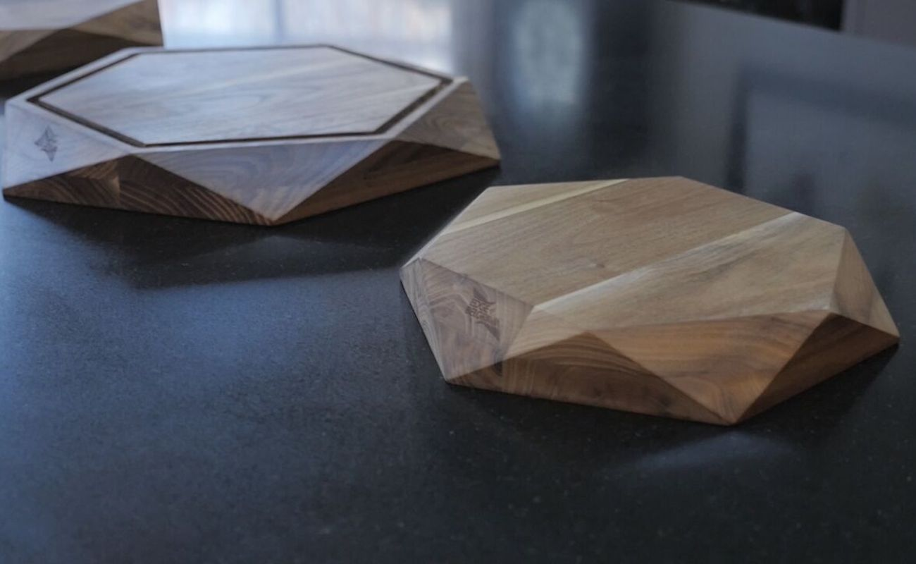 Teak Star Wood Cutting Board Collection
