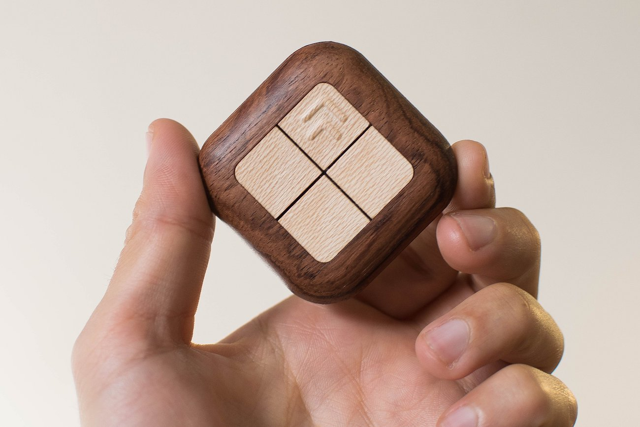 Turn Touch Wooden Smart Home Remote