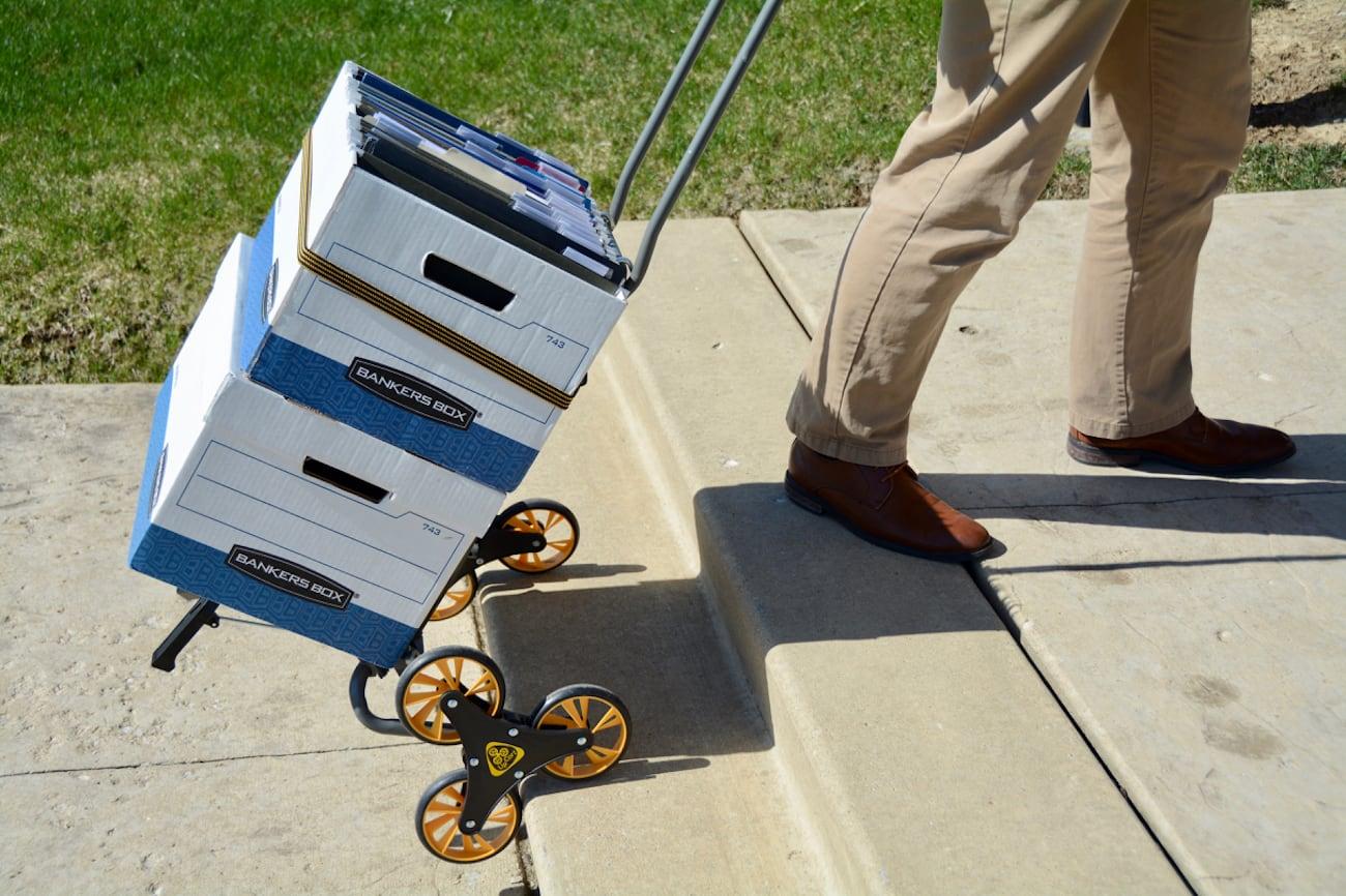 UpCart City Compact Stair Climbing Cart