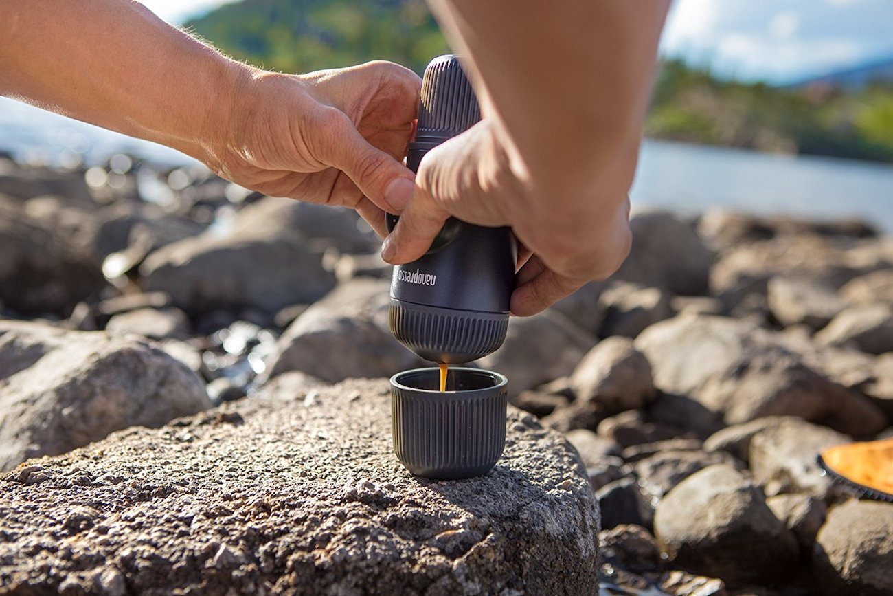Wacaco Nanopresso Portable Manual Espresso Machine
