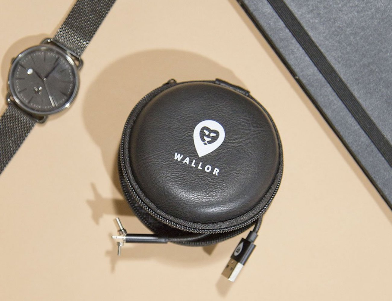Wallor Travel Cable Case