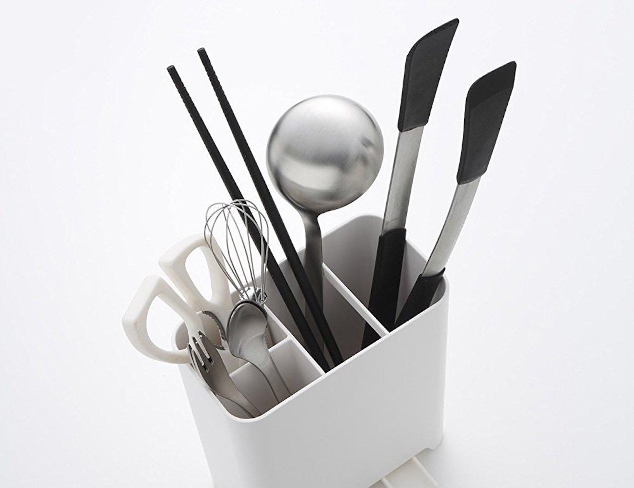 Kitchen Utensil Holder Part - 31: ... Yamazaki Home Kitchen Utensil Holder ...